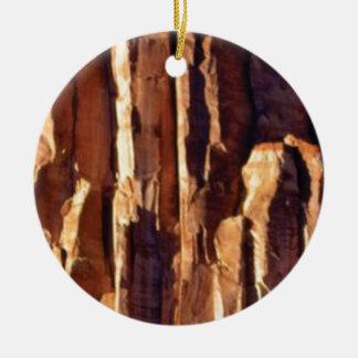 Ornamento De Cerâmica colunas douradas do arenito