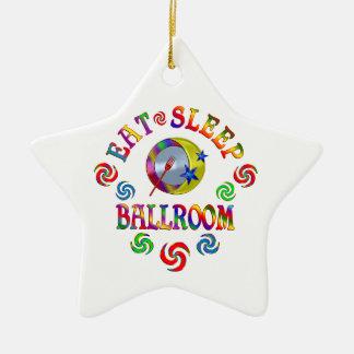 Ornamento De Cerâmica Coma o salão de baile do sono