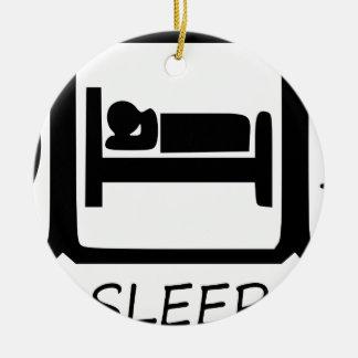 ORNAMENTO DE CERÂMICA COMA SLEEP15