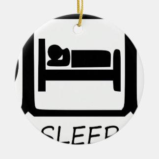 ORNAMENTO DE CERÂMICA COMA SLEEP17