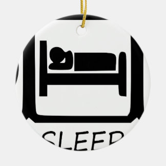 ORNAMENTO DE CERÂMICA COMA SLEEP25