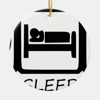 ORNAMENTO DE CERÂMICA COMA SLEEP3