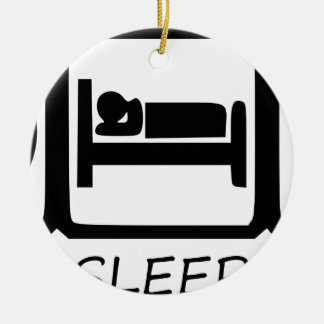ORNAMENTO DE CERÂMICA COMA SLEEP5