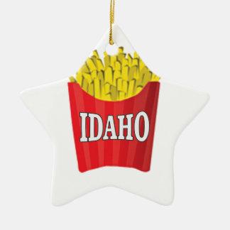 Ornamento De Cerâmica Comida lixo de Idaho