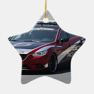 Ornamento De Cerâmica Competência de carro de esportes auto