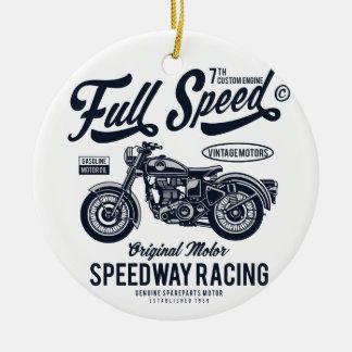 Ornamento De Cerâmica Competência do estrada da velocidade máxima