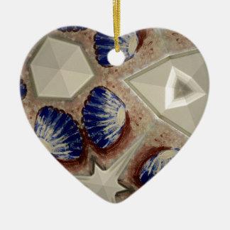 Ornamento De Cerâmica Conchas e mais