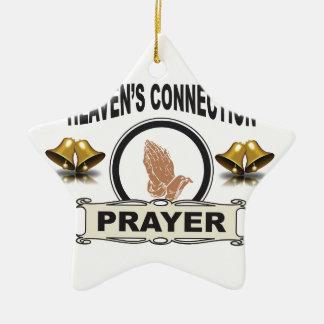 Ornamento De Cerâmica Conexão dos céus de Bels