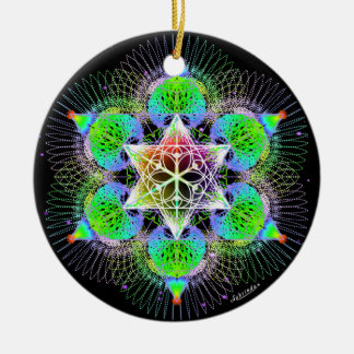 Ornamento De Cerâmica Conexão ilimitada do sonho/coração
