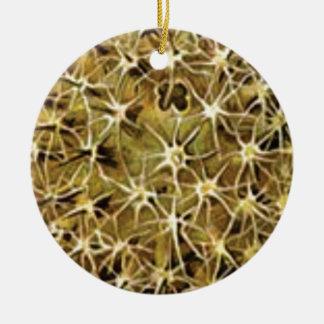 Ornamento De Cerâmica conexões do cérebro visualizadas