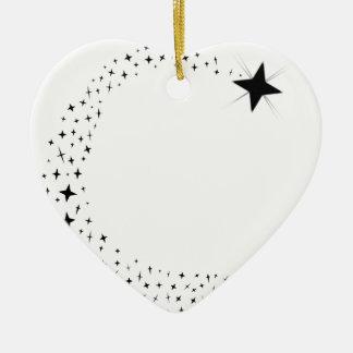 Ornamento De Cerâmica Conjunto de estrela do tiro