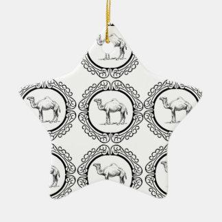 Ornamento De Cerâmica Conjunto do camelo