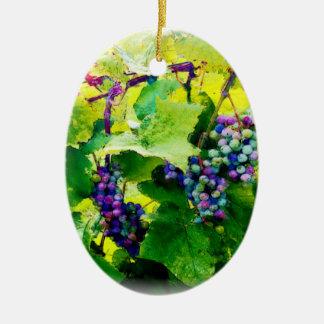 Ornamento De Cerâmica conjuntos de uvas 17