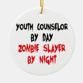 Ornamento De Cerâmica Conselheiro de juventude do assassino do zombi