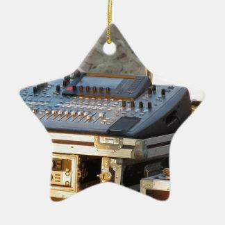 Ornamento De Cerâmica Console de mistura audio profissional