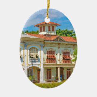 Ornamento De Cerâmica Construções históricas, Guayaquil, Equador