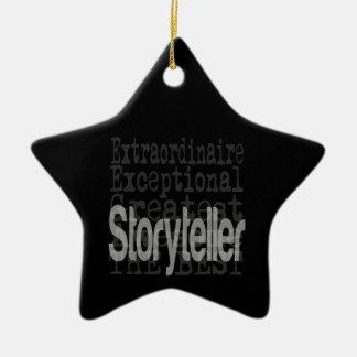 Ornamento De Cerâmica Contador de histórias Extraordinaire