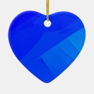 Ornamento De Cerâmica Contexto azul escuro
