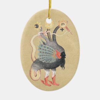 Ornamento De Cerâmica Cor do pitão da alquimia