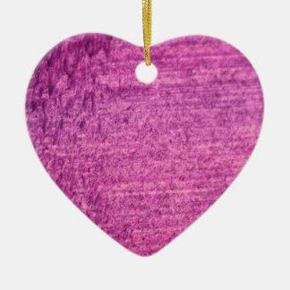 """Ornamento De Cerâmica Coração da """"caverna"""" de Zazzle: Edição cor-de-rosa"""