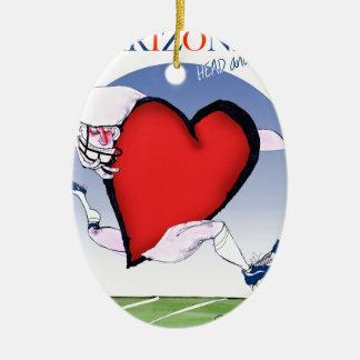 Ornamento De Cerâmica coração principal da arizona, fernandes tony