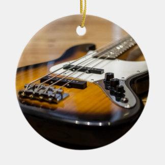 Ornamento De Cerâmica Cordas baixas baixas do instrumento da guitarra