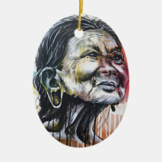 Ornamento De Cerâmica Cores da vida