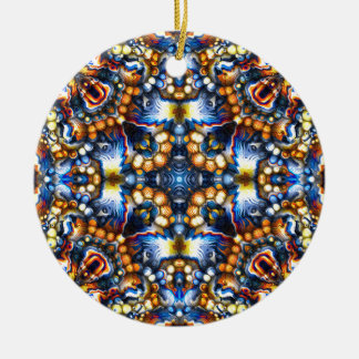 Ornamento De Cerâmica Cores de derretimento