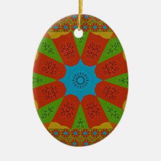 Ornamento De Cerâmica Cores femininos africanas de surpresa bonitas do