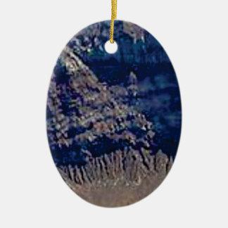 Ornamento De Cerâmica cores mergulhadas da rocha