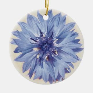 Ornamento De Cerâmica Cornflower