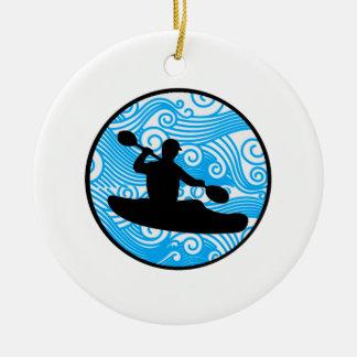 Ornamento De Cerâmica Corredor extremo da onda