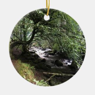Ornamento De Cerâmica Córrego irlandês