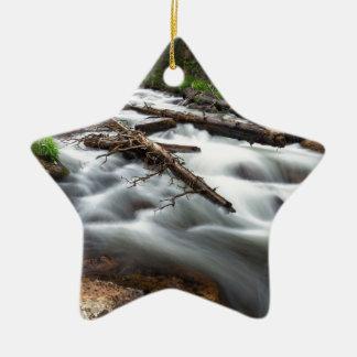 Ornamento De Cerâmica Córrego mágico da montanha