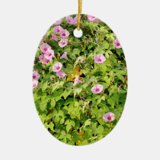 Ornamento De Cerâmica Corriolas cor-de-rosa Bush