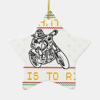 Ornamento De Cerâmica corte do design da motocicleta