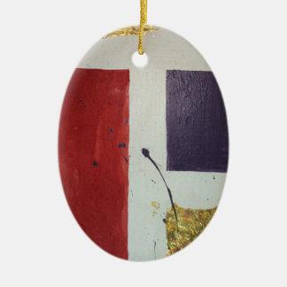 """Ornamento De Cerâmica """"Cosmético original """" dos meios mistos abstratos"""