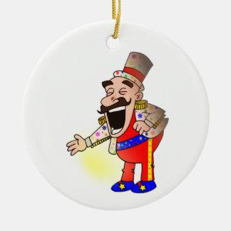 Ornamento De Cerâmica Cozinheiro chefe do circo