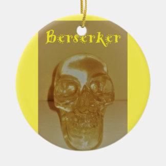 Ornamento De Cerâmica Crânio de Berserker