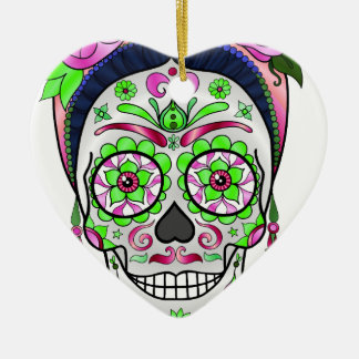 Ornamento De Cerâmica Crânio do açúcar do melhor vendedor