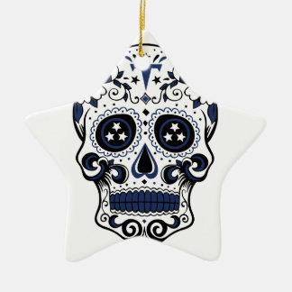 Ornamento De Cerâmica Crânio do açúcar dos titã