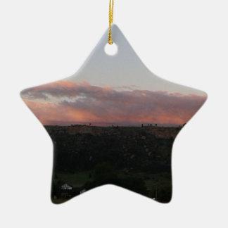 Ornamento De Cerâmica Crepúsculo 1