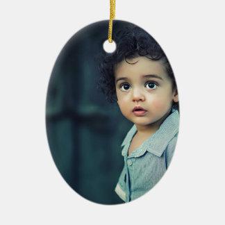 Ornamento De Cerâmica Criança bonito