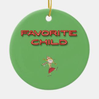 Ornamento De Cerâmica Criança favorita