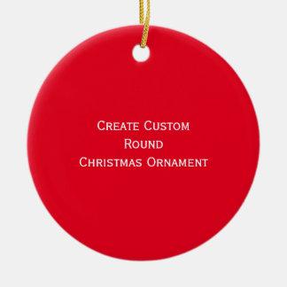 Ornamento De Cerâmica Criar o costume personalizado em volta da