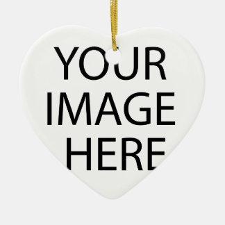Ornamento De Cerâmica Criar seus próprios design & texto:-)