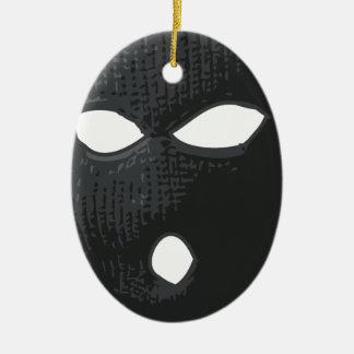 Ornamento De Cerâmica criminoso-máscara