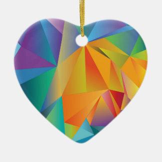 Ornamento De Cerâmica cristal colorido