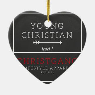 Ornamento De Cerâmica Cristão novo - nível 1