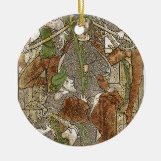 Ornamento De Cerâmica Cristo coroado com espinhos